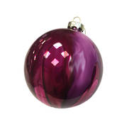 10CMD PURPLE/PINK GLASS BALL (6)