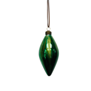 GREEN MARBLED GLASS OLIVE (12)
