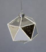 FACETED MIRROR GLASS BALL (12)