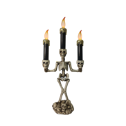 SKELETON CANDELABRA - GOLD
