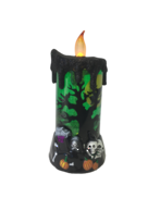 GREEN MOVING HALLOWEEN CANDLE
