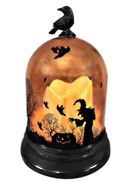 ORANGE HALLOWEEN DOME LIGHT UP