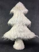 LARGE WHITE ICE FUR TREE
