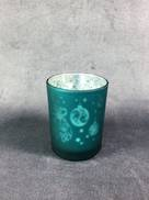 AQUA TEALIGHT HOLDER WITH HANGER DESIGN (12)