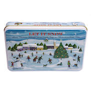 CHRISTMAS LET IT SNOW TIN (3)