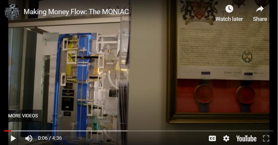 MONIAC hydro-mechanical economic computer