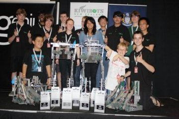 Robotics the winners