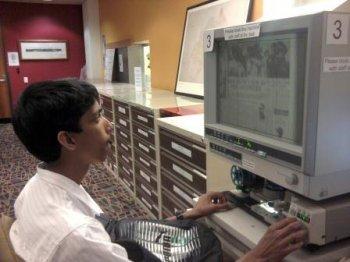 Microfilm history trip
