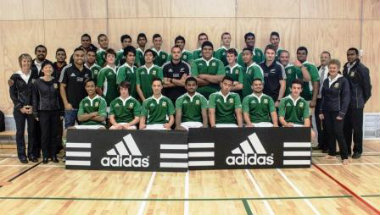 Lynfield College 1st XV and All Blacks(copy)