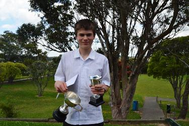 Andrew Isdale Year 10 Performer of the Year