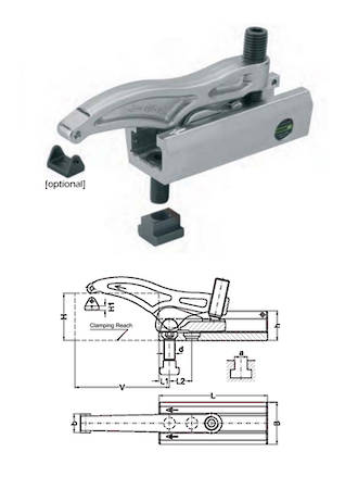 LENZKES Multi Quick Clamping Tool
