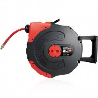 Jamec Pem JP58.1034 Pro Series Retractable Air Hose Reel 9.5mm x 20M Freight Free