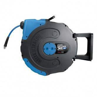 Jamec Pem JP58.2012 Pro Series Retractable Air Hose Reel 8mm x 32M Hi Flow Freight Free