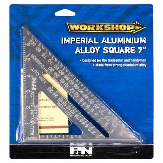 """P+N Aluminium Square 7"""""""