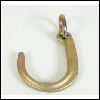 """340005 Forged Tow Hook : 200mm (8"""") J Hook"""