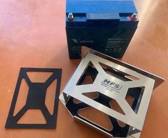MFS Battery Box Slim Aluminium