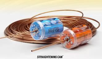 "CH0149-14 Nuevo Tube Straightener 1/4"" Orange"