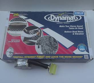 10455P Dynamat Xtreme 3.3 SqM Pack + Roller + Tape Kit