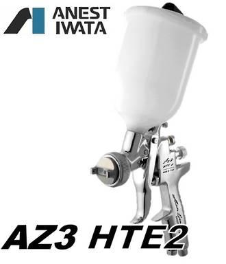 Iwata AZ3 HTE2 Gravity Spray Gun 600ml Pot 3.0mm