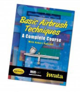 Iwata Basic Airbrush Techniques Book VT070