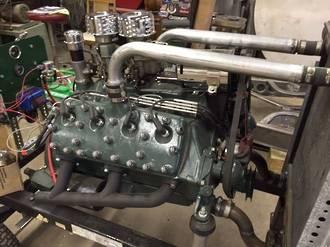 KBS 69313 MotorCoater Engine Enamel Ford Green Model A to V8 500ml