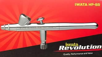 Iwata Revolution Gravity Air Brush HP.BR