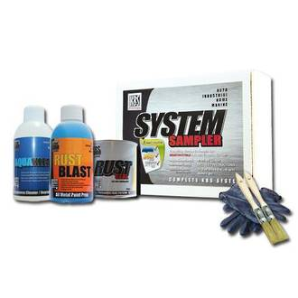 KBS 50002 System Sampler Kit Satin Black 250Ml