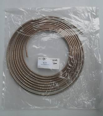 """KFP516 Kunifer Cupro Nickel Fuel Pipe 5/16"""" x 7.6M (25Ft)"""