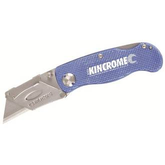 KK060011 Kincrome Folding Utility Knife Lock Back 150mm