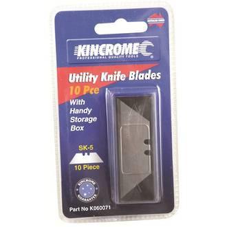 KK060071 Kincrome Utility Knife Blades 10 Piece