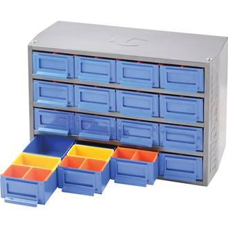 KK7640 Kincrome Multi Cabinet 16 Drawer / 64 Trays Interlockable