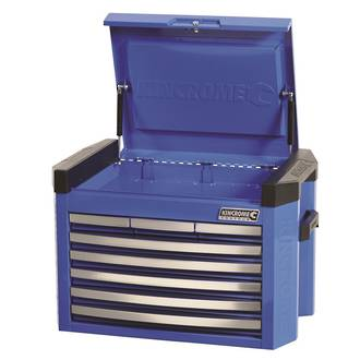 KK7748 Kincrome Contour Tool Chest 8 Drawer Electric Blue Freight Free