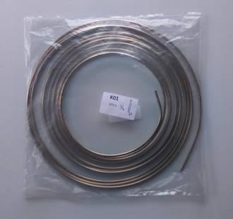 "KBP14 Kunifer Cupro Nickel Brake Tube 1/4"" x 7.6M (25Ft)"