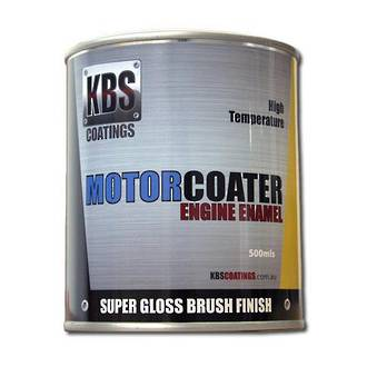 KBS 69312 MotorCoater Engine Enamel Velvet Black 500ml