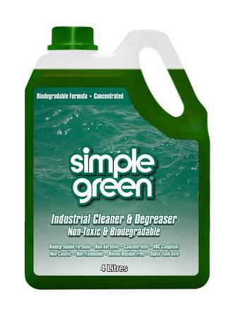 Simple Green Industrial Cleaner & Degreaser 4L