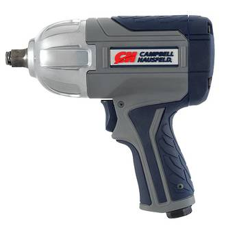 "XT002000 Campbell Hausfeld GSD 1/2"" Impact Wrench, Twin Hammer, Variable Speed"