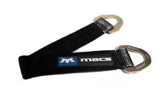 """121724 Macs USA  Axle or Through Wheel Strap 600mm (24"""") with 400mm Protective Sleeve"""