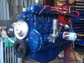 KBS 69304 MotorCoater Engine Enamel Ford Corp Blue 500ml