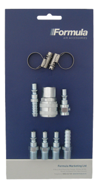 FAC250 Formula 9 Piece Air Connector Starter Kit
