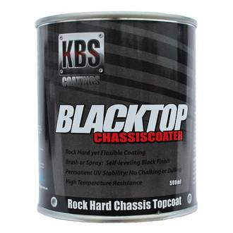 KBS 8302 Black Top Chassis Coater Satin Black 500Ml