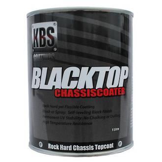 KBS 8401 Black Top Chassis Coater Gloss Black 1 Litre