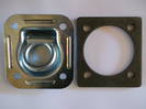330002 Macs USA Recessed D or Tie Down Lashing Ring  2250Kg + 472005 Steel Backing Plate 6mm Ea