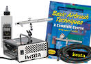 FIWBEGS Iwata Beginners Air Brush Kit Siphon 5 Piece