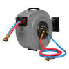 JP228523 Trade Flame Oxy/Acetylene Twin Hose Reel 10M Freight Free