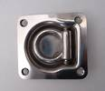 330800 Stainless Steel  Recessed D or Tie Down Lashing ring