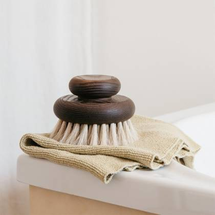 Andree Jardin Large Body Brush in Heritage Ash wood