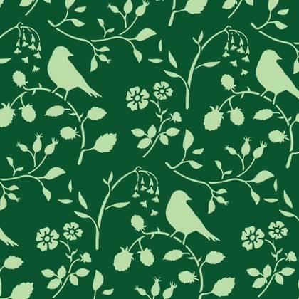 Stencil - Countryside Birds