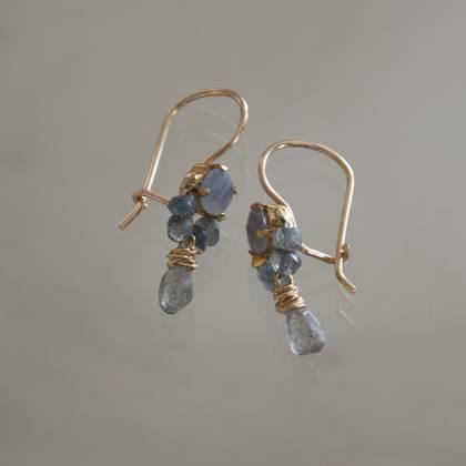 Earrings Dancer larbradorite - n° 292 (sold)