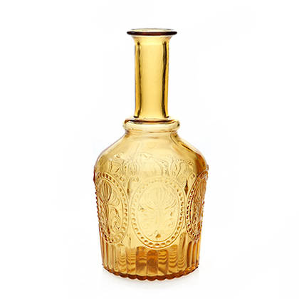 Fleur de Lys Amber Carafe (available to order)