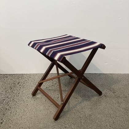 Folding Stool - Les Sables Cotton